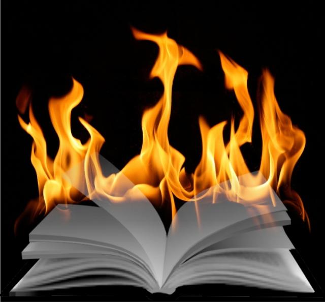 queima de livros história inquisição